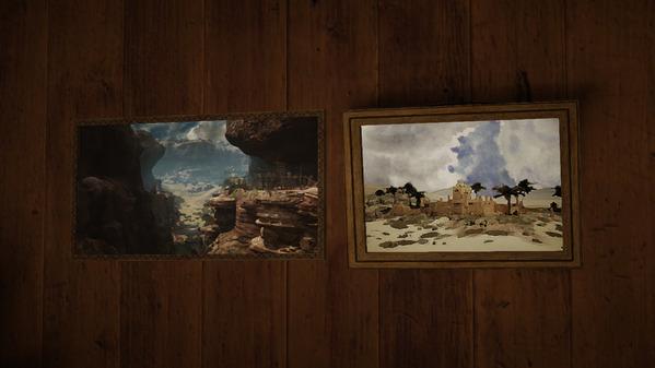 黒い砂漠 首都グラナ 絵画