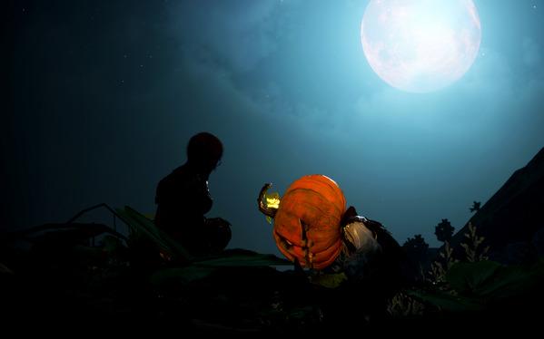 黒い砂漠 ハロウィン いたずらなかぼちゃのオバケ