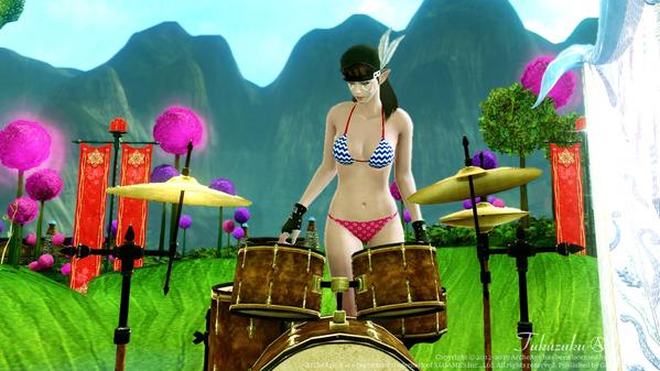ArcheAge エルフ ビキニ ドラム
