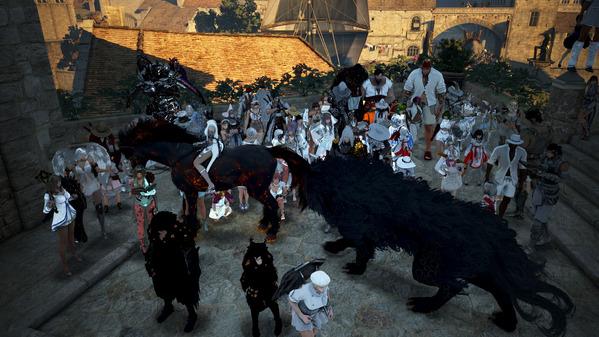 黒い砂漠 夏祭り027