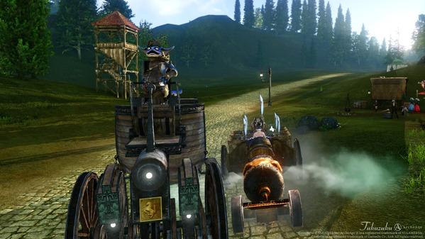 ArcheAge トラクター