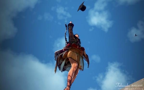 黒い砂漠 ツバキ エモーション 卒業 学士帽