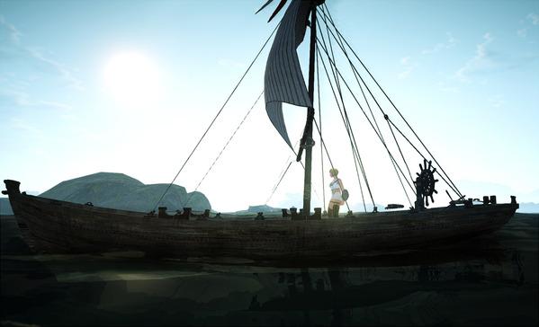 BlackDesert Valkyrie 漁船