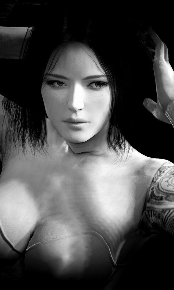 Black Desert Mystic Nude Basic Underwear