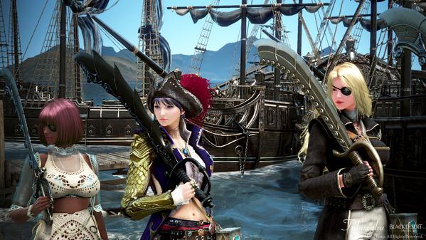 黒い砂漠 海賊エモツアー24