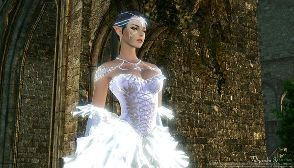 ArcheAge 届きそうな愛のドレス アバター