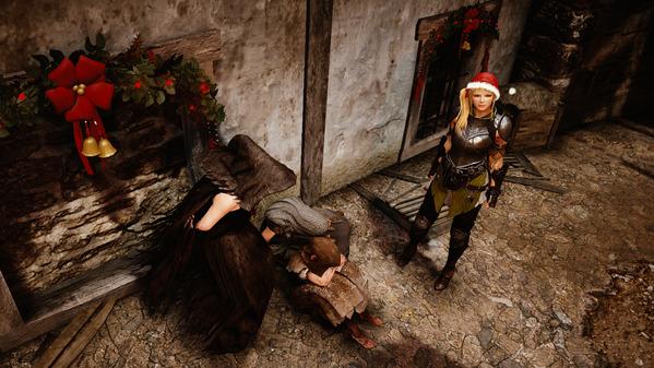 黒い砂漠 首都カルフェオン クリスマス