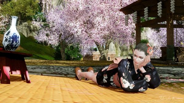 ArcheAge 満開の桜を見に行こう!リュート港の春物語