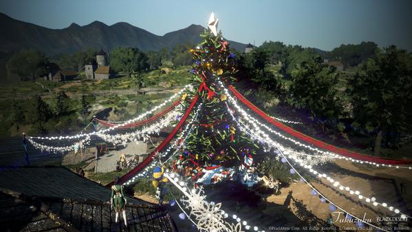 黒い砂漠 ハイデル クリスマス装飾