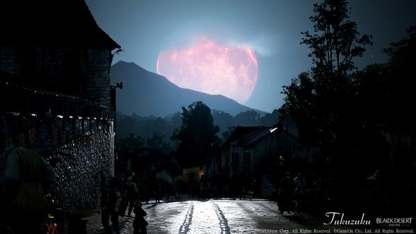 黒い砂漠 ハロウィン 赤い月 ハイデル