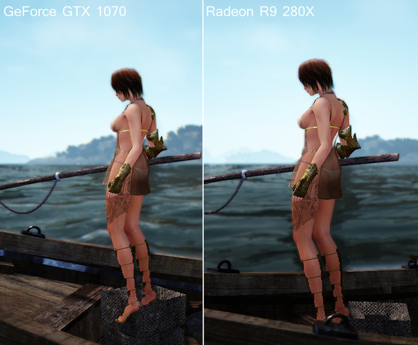 Radeon R9 Geforce 1070 比較
