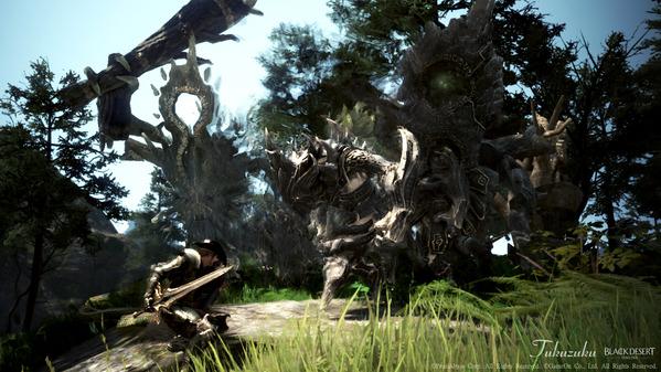 黒い砂漠 ミルの木