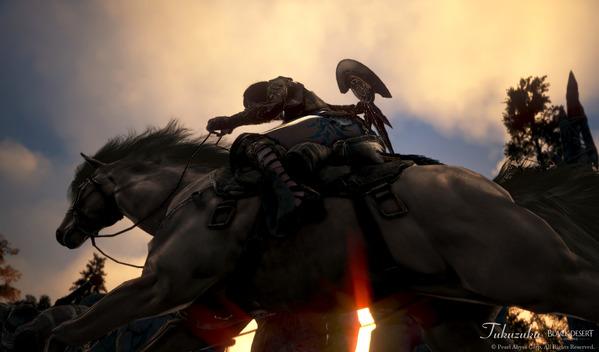 黒い砂漠 ガーディアン 馬