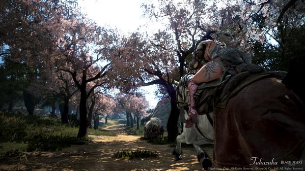黒い砂漠 ガーディアン ムブウルス 桜
