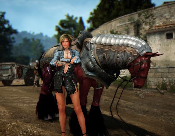 BlackDesert Sorceress 5世代馬