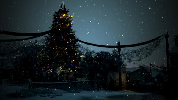 黒い砂漠 ベリア村 クリスマス装飾