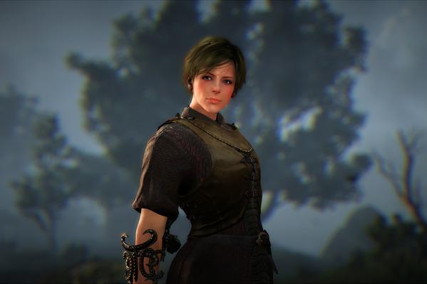 BlackDesert Sorceress 熟練採集服