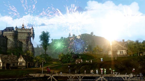 7周年前夜祭「ArcheAge真夏の花火大会」