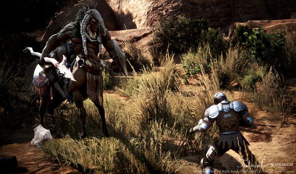 黒い砂漠 格闘家 ケンタウロス