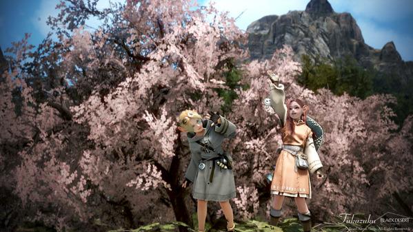 黒い砂漠 シャイ 桜