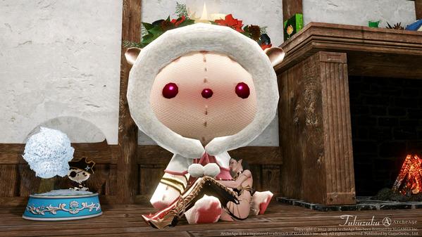 ArcheAge クリスマス ミス・モミの木の子守唄ヌイグルミ型ベッド
