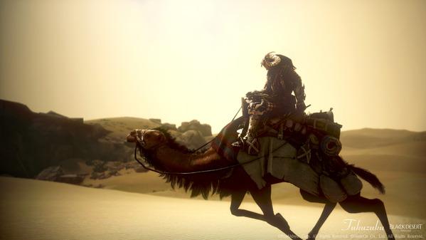 黒い砂漠 ニンジャ ラクダ