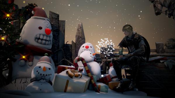 黒い砂漠 アーチャー クリスマス装飾