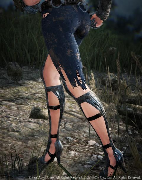 黒い砂漠 キリル衣装セット 耐久度0