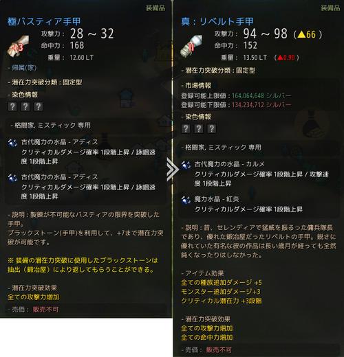 極バスティア リベルト武器