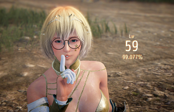黒い砂漠 ヴァルキリー Lv.59 99%