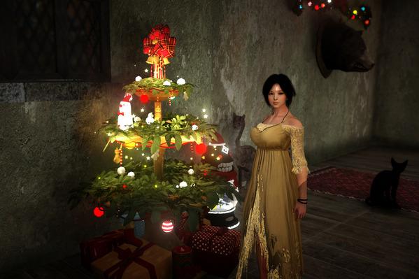 黒い砂漠 ウィッチ クリスマス大型ツリー