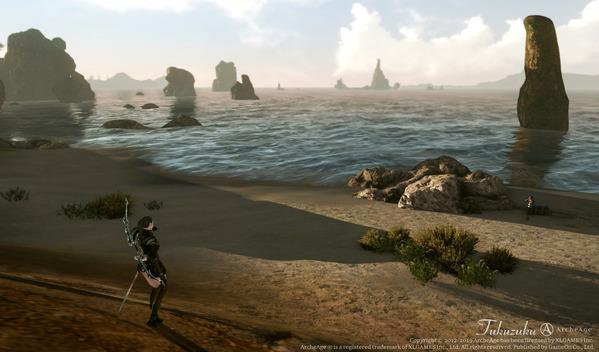 ArcheAge エルフ デンジャラスビーチ