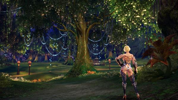 TERA Online 月光波の森