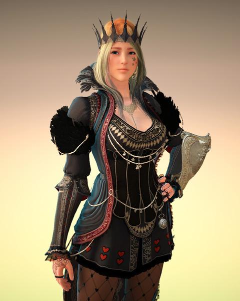 黒い砂漠 闇の女王 アバター ヴァルキリー