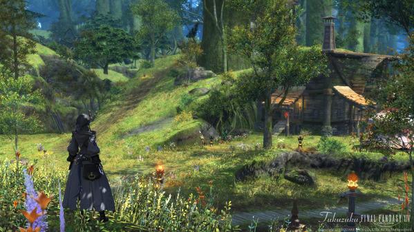 FF14 黒衣森:東部森林 ホウソーン家の山塞