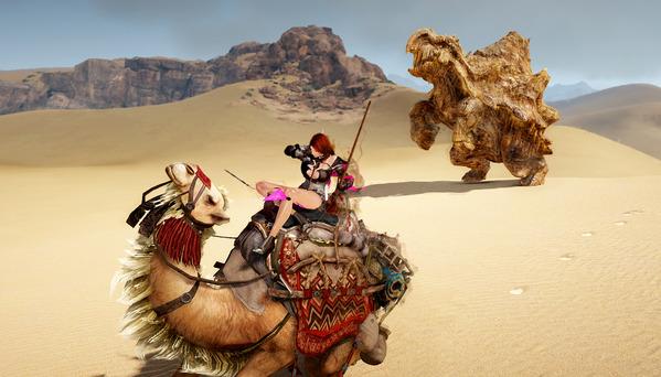 黒い砂漠 バレンシア大砂漠 石山亀龍