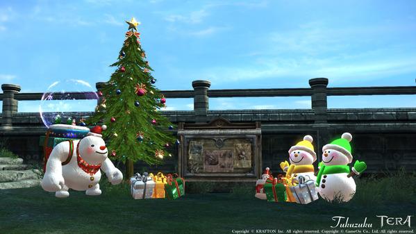 TERA Online クリスマス
