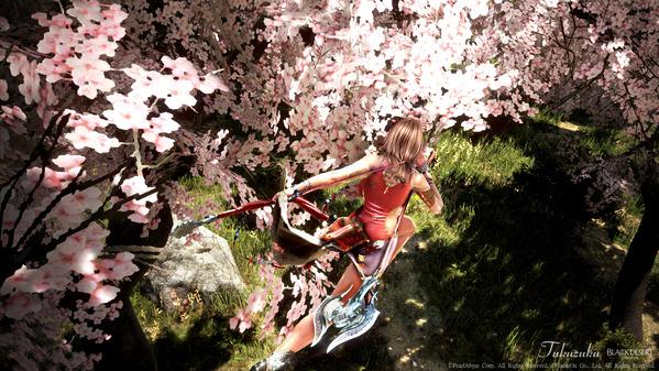 黒い砂漠 ラン コチョウラン アバター 桜