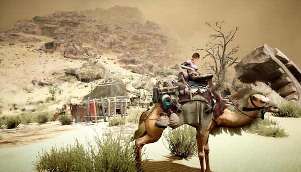 黒い砂漠 三日月神殿