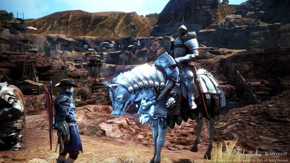 黒い砂漠 スキル経験値バフ獲得イベント 謎の騎士