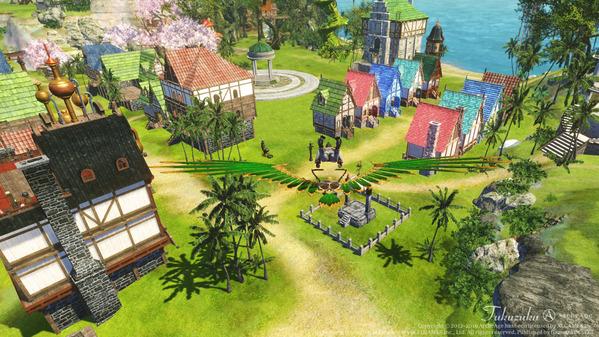 ArcheAge 蜃気楼の島の宝探しイベント