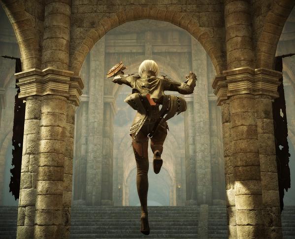 BlackDesert セレンディア神殿