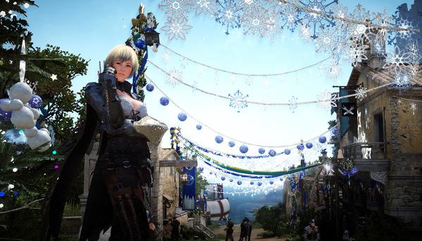 黒い砂漠 クリスマス ベリア村