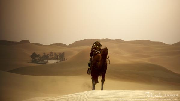 黒い砂漠 ウォーリア バレンシア大砂漠