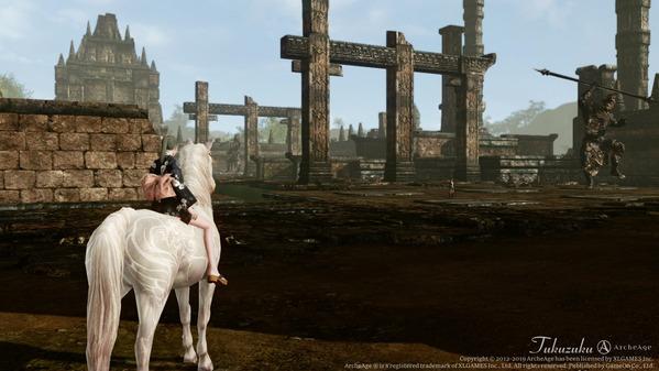 ArcheAge ハリハララヤ廃墟