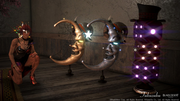 黒い砂漠 [EV] 金の魔女三日月 星の魔女三日月 ゴースピの遊び場