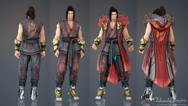 黒い砂漠 格闘家 [KT] 熱血男子衣装 アバター