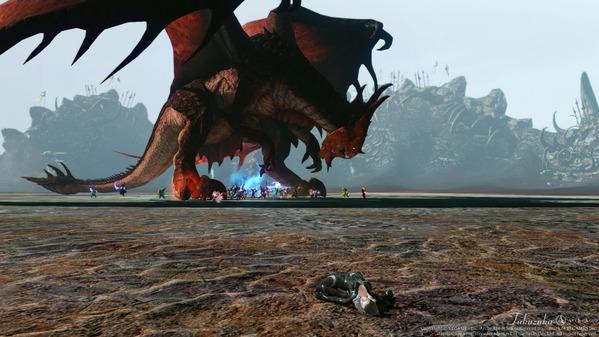 ArcheAge レッドドラゴンの巣