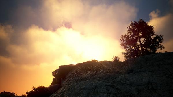 黒い砂漠 バレノス 夕陽