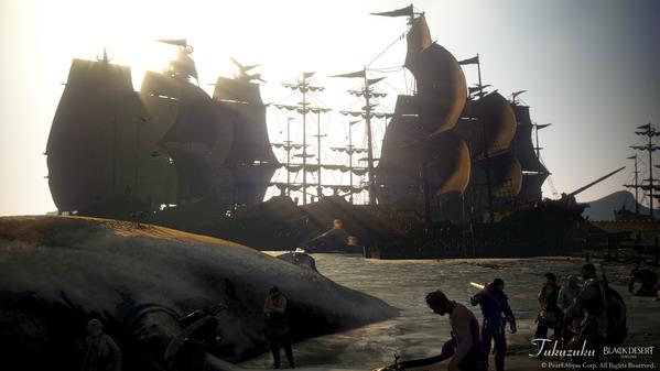黒い砂漠 海賊エモツアー04